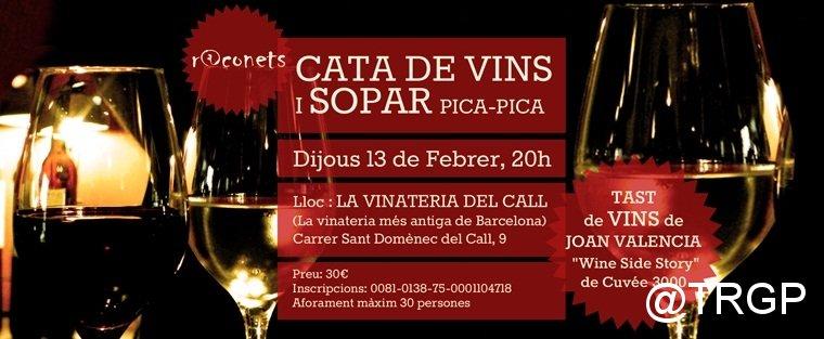 Cata Vins i Sopar Febrer 2014