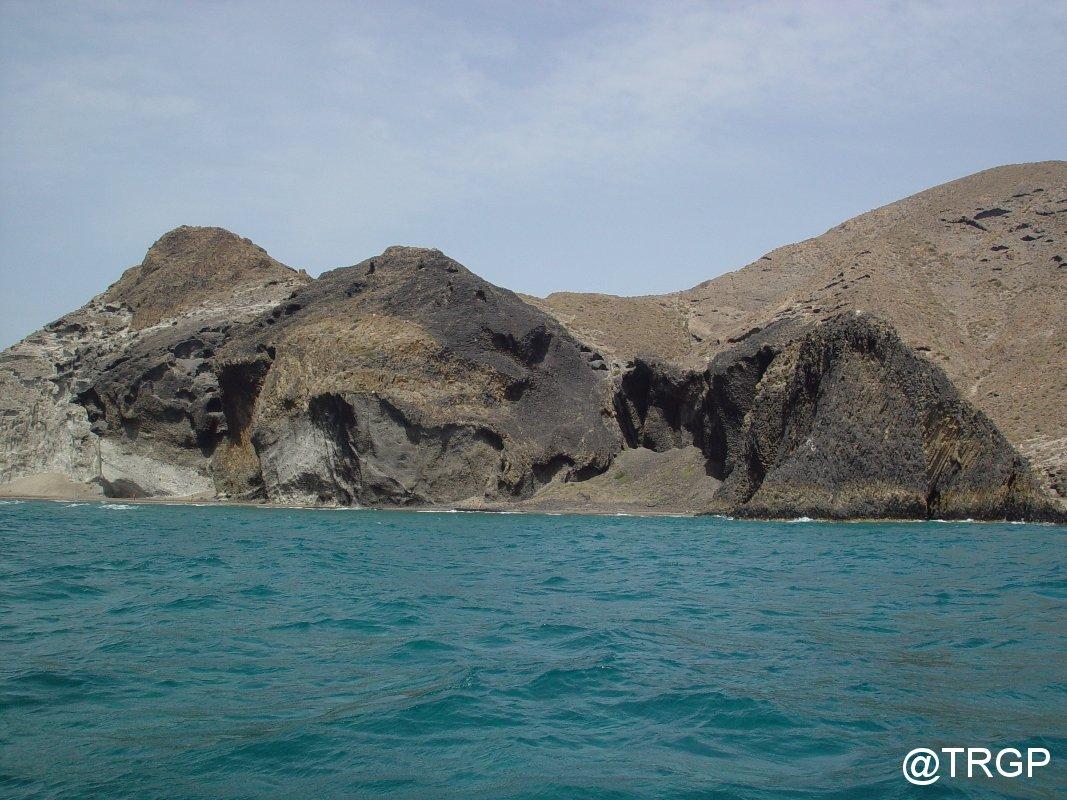 Cabo de Gata des del mar