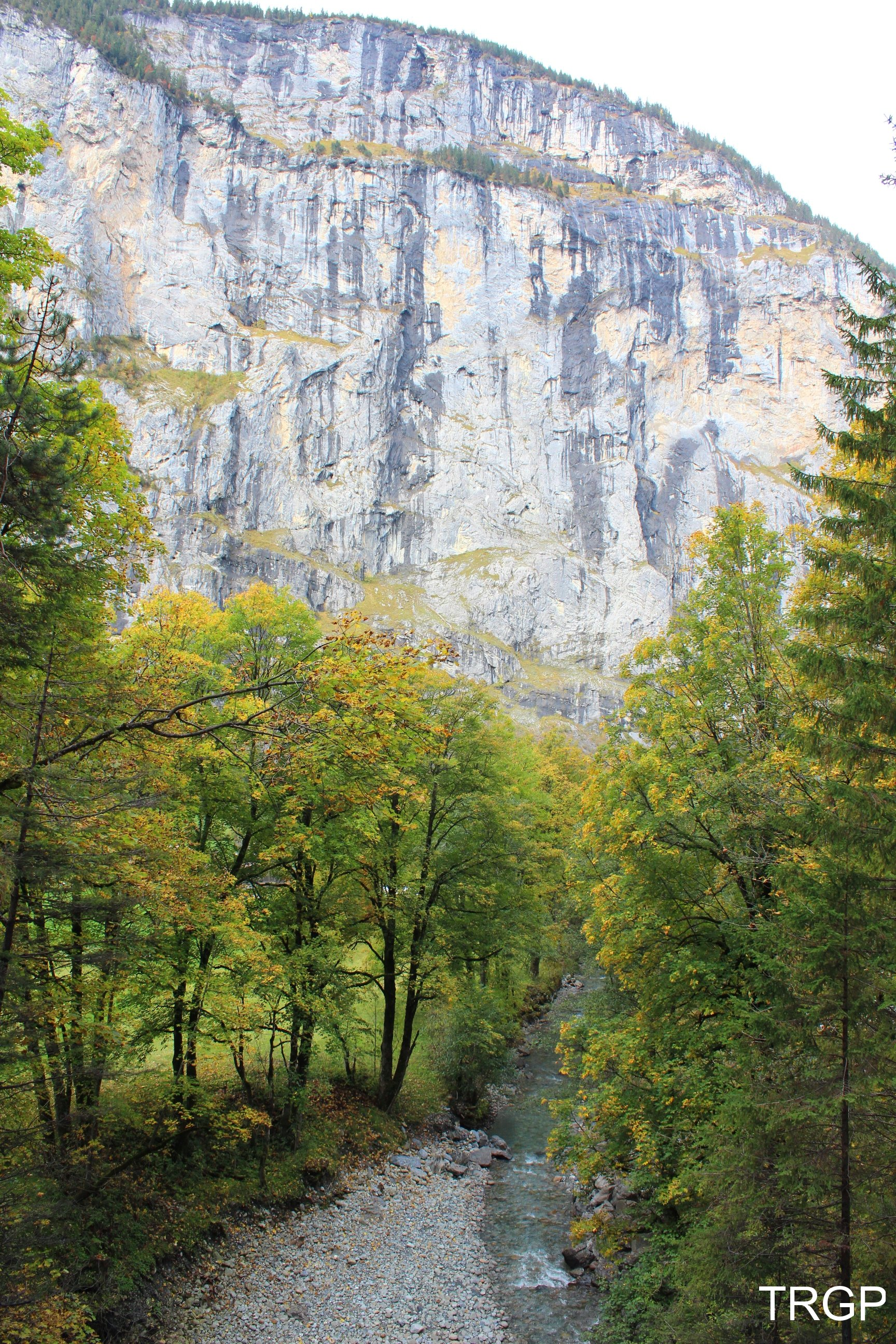Staubachfälle i Trümmelbachfälle