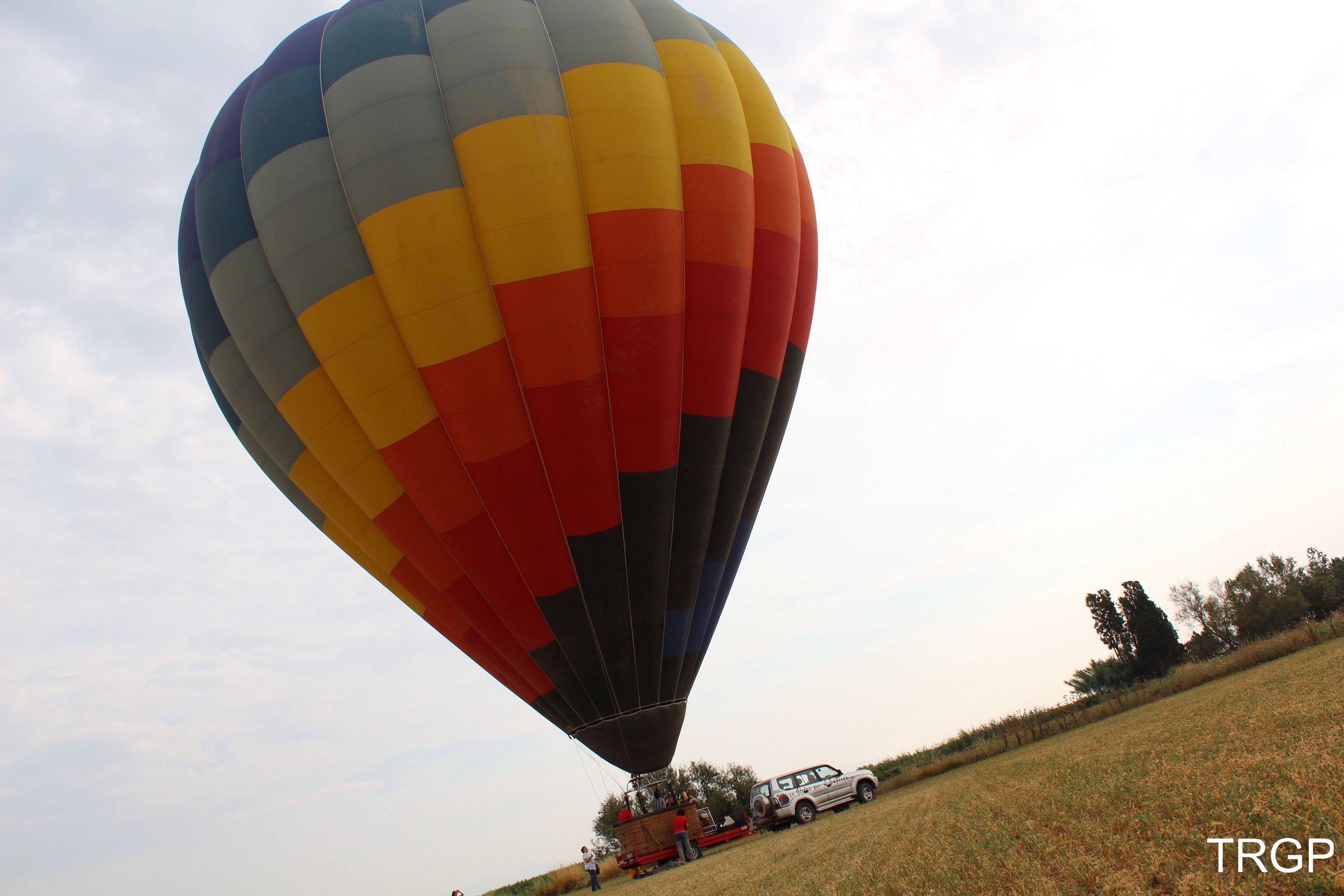 Vol amb Globus Emporda